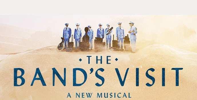 「The Band's Visit musical poster」の画像検索結果